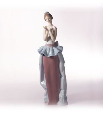 Lladro An Expression Of Love 1999-02 Porcelain Figurine