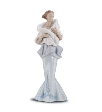 Lladro A Night Out 1999-01 Porcelain Figurine