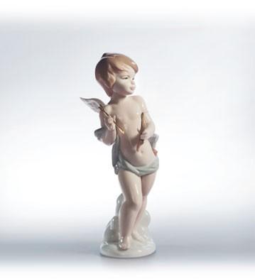 LladroCupids Arrow 2000-02Porcelain Figurine