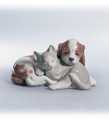 LladroBosom Buddies 1999-02Porcelain Figurine