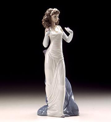 LladroAnticipation 1999Porcelain Figurine