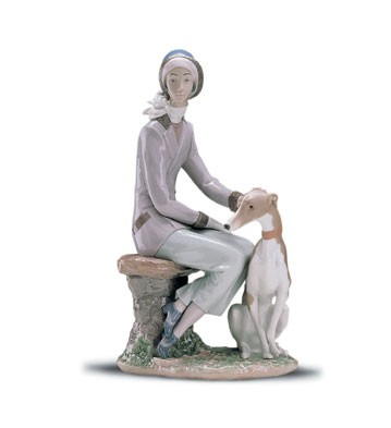Lladro Faithful Companion 1999-01 Porcelain Figurine