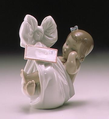 Lladro Heaven's Gift With Card (girl)