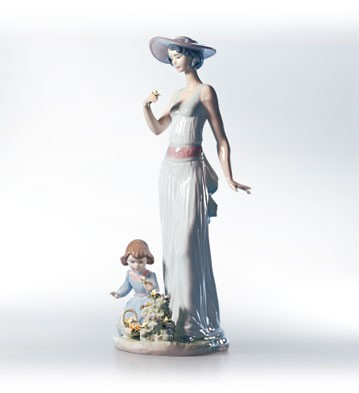 Lladro Flower In Bloom 1999-02