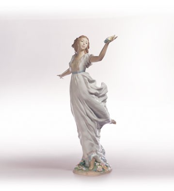 Retired Lladro Allegory Of Youth