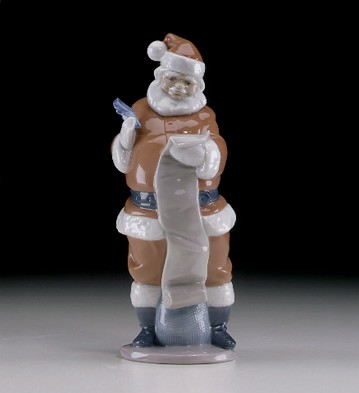 Lladro Santas List 2000 Edition
