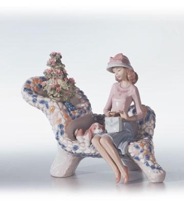 LladroParque Guell (gaudi Coll.)Porcelain Figurine