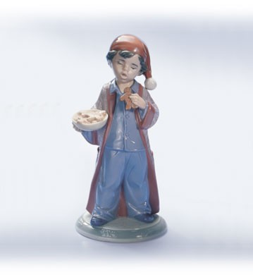 LladroSanta Won't NoticePorcelain Figurine