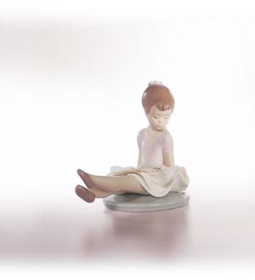 LladroRosy PoseyPorcelain Figurine