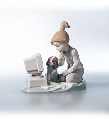 Retired Lladro Computing Companions
