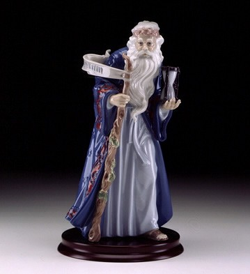 LladroFather Time I.millennium 1999-00Porcelain Figurine