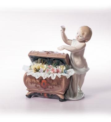 LladroPetals Of Hope 2000-02Porcelain Figurine
