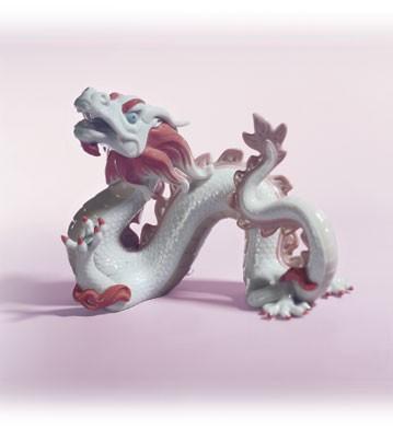 LladroThe Dragon 2000 Zodiac Figure