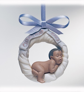 Retired Lladro Baby's First Christmas 2002 (b. Legacy)