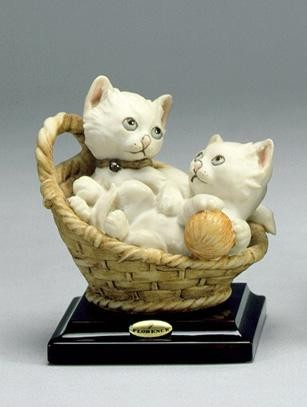 Giuseppe Armani Kittens In The Basket