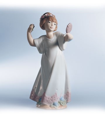 Retired Lladro Delightful