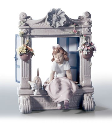 Retired Lladro Childhood Dreams