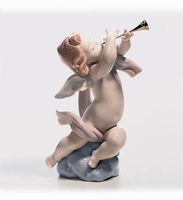 LladroAngelic SerenadePorcelain Figurine