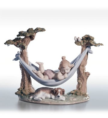 Retired Lladro Little Napmates