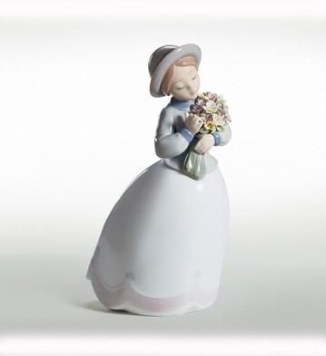 LladroBlossom TimePorcelain Figurine