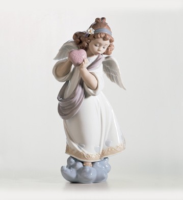 Lladro Love In The World Porcelain Figurine