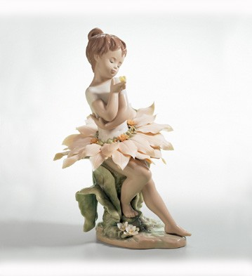 Lladro Secrets Of The Forest Porcelain Figurine
