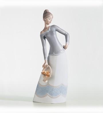 LladroSerenaPorcelain Figurine