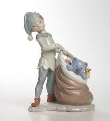 LladroSanta's Sack Of DreamsPorcelain Figurine