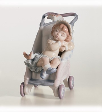 Retired Lladro Bundle Of Dreams
