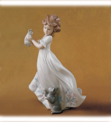 Lladro Kittens Gathering 2003 Event Porcelain Figurine