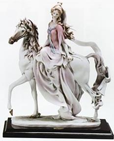Giuseppe ArmaniLady On Horse