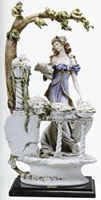Giuseppe ArmaniThe Flower Girl/the Florist
