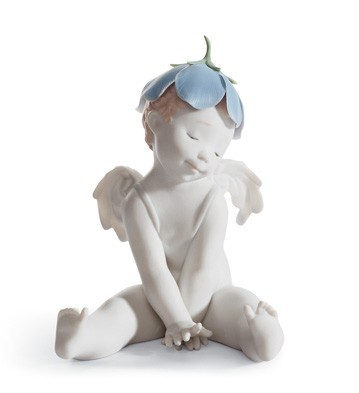 Lladro Time For A Nap Porcelain Figurine