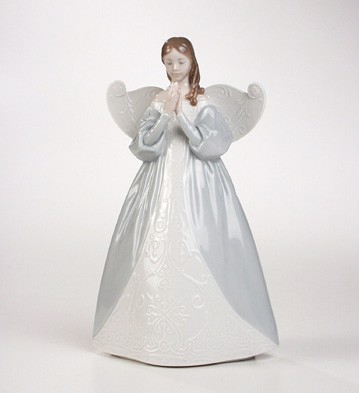 Retired Lladro Celestial Scent (tree Topper)