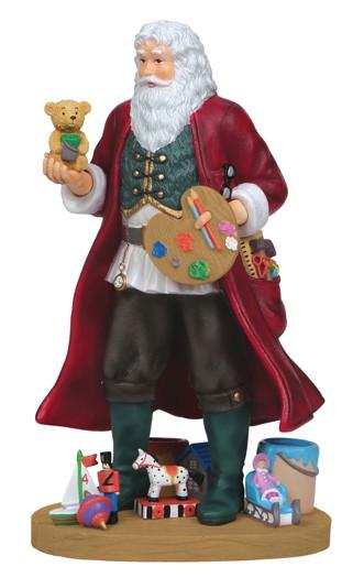 PipkaCreative Santa Figurine