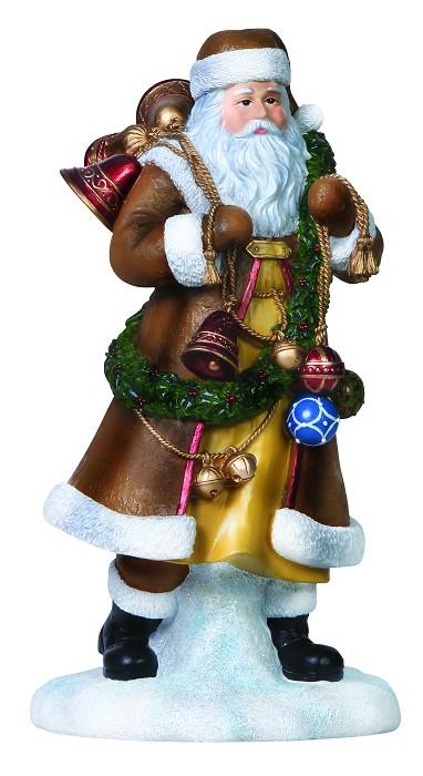 PipkaThe Bell Ringer Santa Figurine