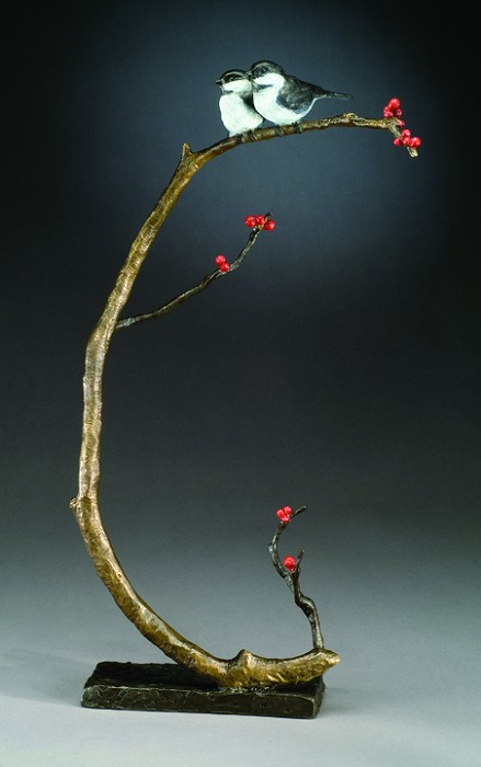 Mark HopkinsGood CompanyBronze Sculpture