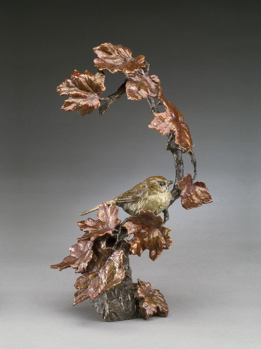 Mark Hopkins Autumn's Return Bronze Sculpture