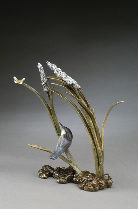 Mark Hopkins Catch Ya Later Bronze Sculpture