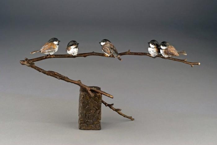 Mark HopkinsFamily ReunionBronze Sculpture