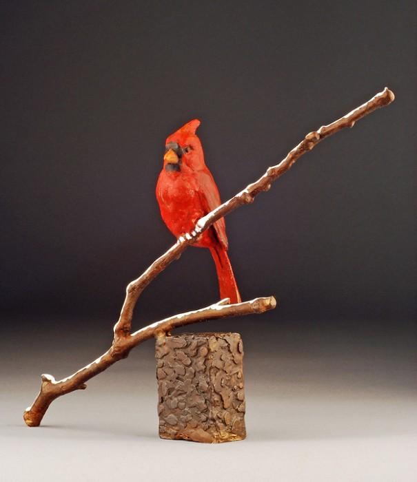 Mark HopkinsWinter SongBronze Sculpture