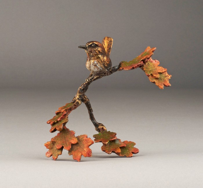 Mark HopkinsMorning BreaksBronze Sculpture