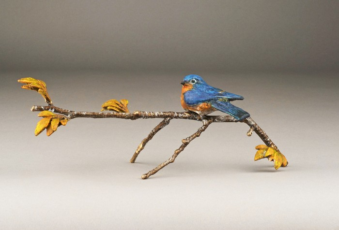 Mark HopkinsBlue SkiesBronze Sculpture