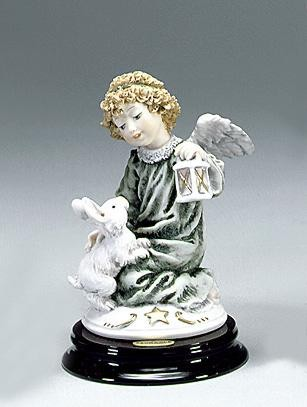Giuseppe Armani Cherub with Little Rabbit
