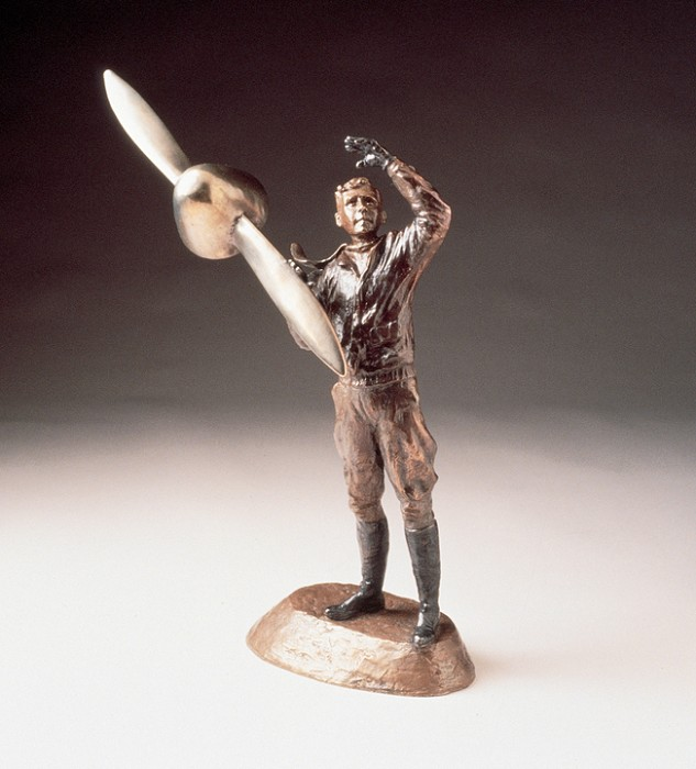 Mark HopkinsFlight of the SpiritBronze Sculpture