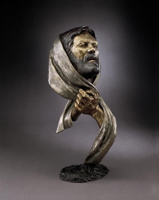 Mark HopkinsPrayer (large)Bronze Sculpture