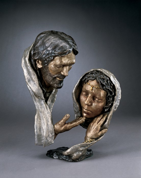 Mark Hopkins Forgiveness Bronze Sculpture