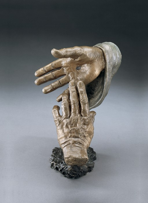 Mark HopkinsBelievingBronze Sculpture