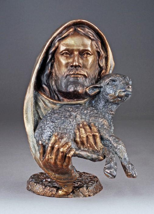 Mark HopkinsThe Lamb (small)Bronze Sculpture