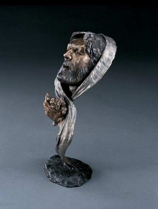 Mark HopkinsPrayerBronze Sculpture